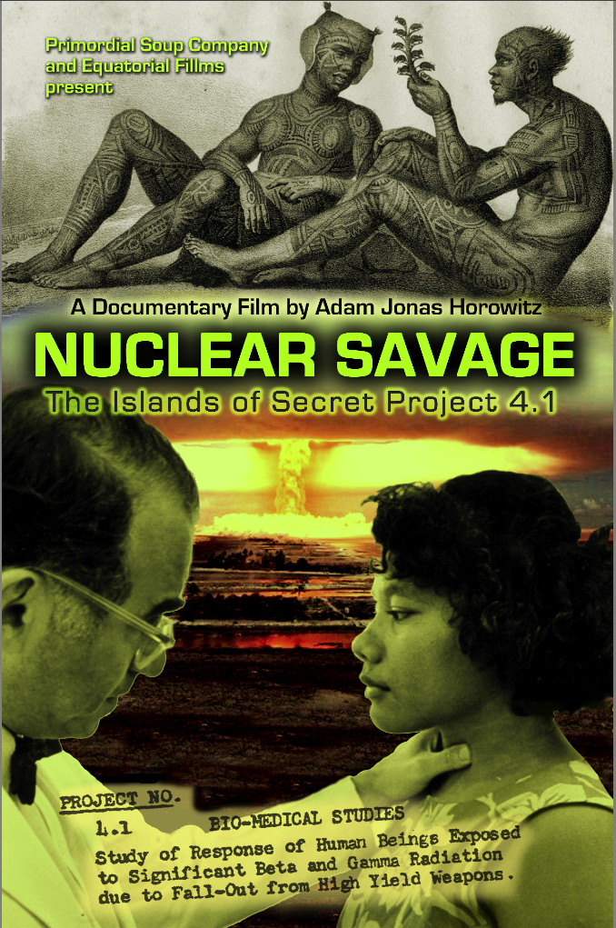 Nuclear Savage Film Poster