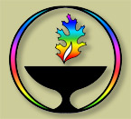 UUCOC Rainbow Chalice Logo