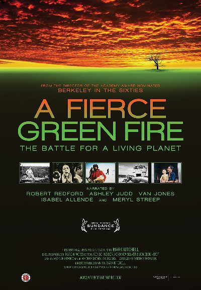 a fierce green fire poster image